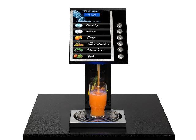 Fruchtsaftautomat-Design